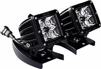 RIGID Universal ATV Handle Bar Mount Kit with Pair of D-Series PRO LED Lights