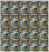 Lot of 20 Sports Illustrated Aaron Rodgers Packers 2015 No Mailing Address Label