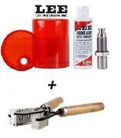 LEE 2 Cavity Mold for 44 Spl/ 44 Rem Mag/ 44-40 WCF & Sizing and Lube Kit #90858