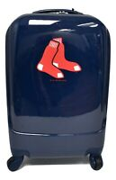 G III MLB Licensed Boston Red Sox Luggage 20quot; Spinner Carry On Suitcase PVC NWT