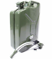 VALPRO 20 Liter 5 Gallon NATO Style Jerry Can with Long Nose Flex Spout