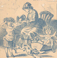 ORANGE amp; BOSTON MASS THE NEW HOME SEWING TRADE CARD BEFORE amp; AFTER SCENES C27