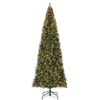 Home Heritage 12 Foot Albany Pre-Lit Artificial Christmas Tree w/ LED Lights