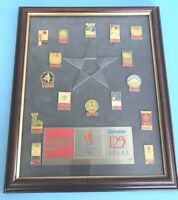 VALVOLINE1992 125 Years  OLYMPICS Coca-Cola Collectors PIN Set Limited Ed #4/175