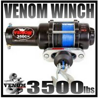 3500LB ATV Winch 3500 LB BRAND NEW WATERPROOF KIT RT