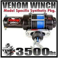 3500LB VENOM ATV Winch Polaris Sportsman 2009-20 450,550 & 850 XP