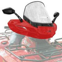 Textron/Arctic Cat ATV WindPro Quick Attach Touring Windshield - Red - 1436-538