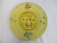 RARE ANTIQUE FRENCH MAJOLICA GEORGES DREYFUS YELLOW 8 3/4