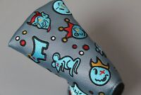 SCOTTY CAMERON - THE MOTLEY CREW CUSTOM SHOP LIMITED PUTTER COVER - MALLET