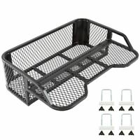 ATV Rear Drop Basket Rack Cargo Carrier Rack-Mounted with Hardware