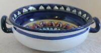 Avallone Vietri Bowl Handled Earthenware Made Italy