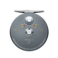 NEW HARDY MARQUIS 5 FLY REEL FOR #5/6 WEIGHT ROD MADE IN UK FREE $85 LINE