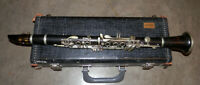Vintage Normandy by Noblet Paris Wood Eb Soprano Clarinet !NORESERVE!