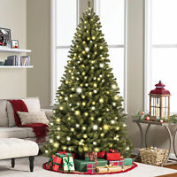 Balsam Hill Vermont White Spruce 6.5ft Pre-lit Christmas Tree Multi Color+White