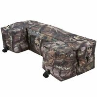 Camo Off-Road Quad 4-Wheeler ATV Rear Rack Bag Storage Luggage & Gear Bag