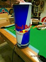 LARGE LIGHTED RED BULL ENERGY SPORTS DRINK STORE DISPLAY SIGN, LOOKS GREAT