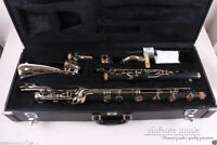 Yinfente Bass Clarinet Low C Clarinet Ebonite Wood Powerful sound PADS Case #236