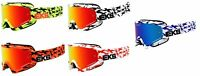 EKS Adult MX ATV Scatter Goggles With Mirror Lens All Colors