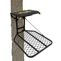 Muddy The Boss Wide Stance Hang On 1 Person Deer Hunting Tree Stand Platform