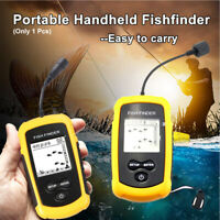 Fishing Portable Fish Finder Wired Boat Kayak Fish Finders for Shore Ice Fishing