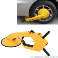 Yellow Parking Boot Car Tire Claw ATV RV Wheel Clamp Boat Trailer Lock Tool SALE