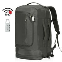 42L Flight Approved Carry on Backpack Travel Security RFID Blocking Luggage Lock