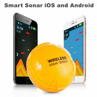 Smart Fishfinder Wireless Underwater Bluetooth Sonar Fish Finder IOS Android US7