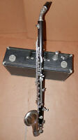 Noblet Paris France Wood Alto Clarinet !NoReserve!