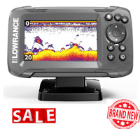 FISH FINDER Transducer GPS Plotter 2-in-1 Sonar Bullet Skimmer Fishing Portable