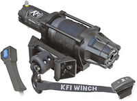 KFI 5000 LB WIDE Assault Series Synthetic Rope ATV UTV Winch AS-50W