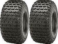 2 - KENDA SCORPION ATV TIRES 16X8-7 ( PAIR )  ( SET )