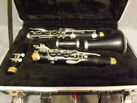 Bundy B Flat Clarinet with Original Case