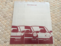 PORSCHE 944 S2 911 964 CARRERA 928 S4 PAINT COLORS & TRIM BROCHURE 1990 USA RARE