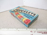 candy box 1950s JUICELETS fruit flavored movie theater size