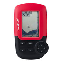 HawkEye FishTrax 1C Handheld Fish Finder HD Color VirtuView Display