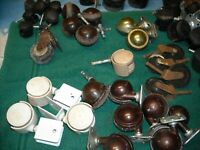 Mix lot of 59 Caster Old Wheels Shepherd Parts amp; More