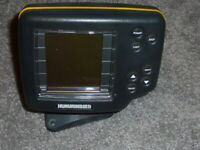 Used Humminbird Wide Eye C Head And Base Only Fishing Lake Camping FishFinder