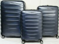 Ricardo Half Dome 3-piece Hardside Spinner Set Navy Carry-On Luggage