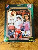 1995 Collect~A~Card Coca Cola Super Premium Collection Sealed Trading Cards Box