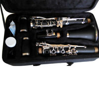 17 Keys Clarinet B Flat With Storage Box Screwdriver Cleaning  Gift Gloves