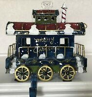 Christmas Express CABOOSE Stocking Holder!  FREE SHIPPING!