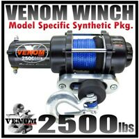 2500LB VENOM ATV Winch Polaris Sportsman 2009-20 450,550 & 850 XP