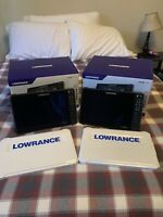 2 Lowrance HDS 12 Live 3 in 1 Transducer