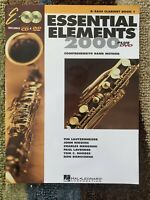 Essential Elements 2000 Bb Bass Clarinet Book 1 With CD amp; DVD