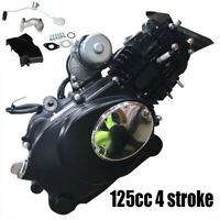 125cc 4stroke ATV Engine Motor Semi Auto W Reverse Electric Start 2 Valve CDI