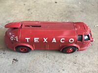 Texaco Vintage Piggy Bank Bus