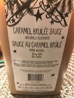 Starbucks Caramel Brulee Sauce 63 Oz Bottle With Pump