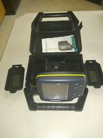 Hummingbird Wide 100 Fish Finder Portable Box Excellent Condition