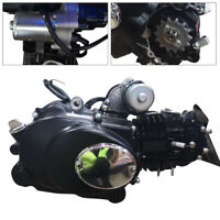 125cc 4 Stroke Electric Start ATV Engine Motor Semi Auto Reverse Bike Motor