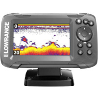 Lowrance HOOK2 4x Fish Finder with Bullet Transducer and GPS Plotter